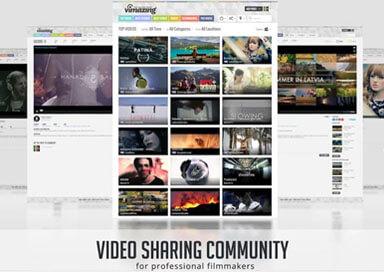 Vimazing.com - portal dla profesjonalnych filmowców